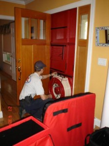 Blower Door and Infiltration Testing