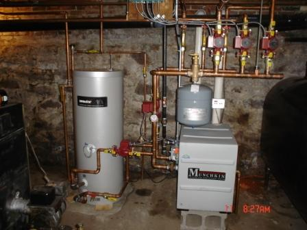 Munchkin Boiler Equipment in Massachusetts | Wilson Services