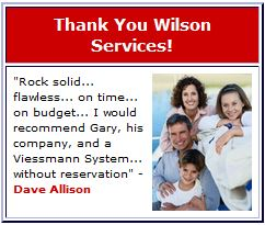 Thank You Wilson Services