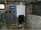 buderus gas Boiler install